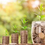 企業の成長と共に配当金も成長していく